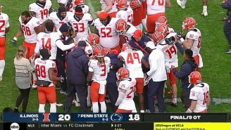 Illinois Upset Penn State, 20-18, In A Hideous, Record-Setting 9 Overtime Game