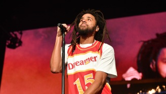 J. Cole Reveals His Hilarious 'Mt. Rushmore Of Rap' During His 'Off-Season' Tour