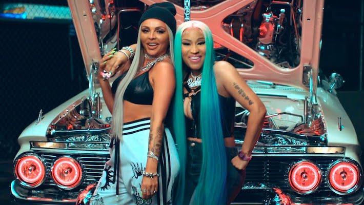 """Jesy Nelson -- """"Boyz"""" Feat. Nicki Minaj"""