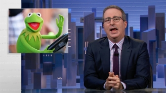 John Oliver Told A Profane Kermit The Frog Joke For The Ages While Celebrating How He Caused Auto Commercial Chaos