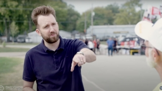 Jordan Klepper Visited A Trump Rally Where He Found Fans Who Think He's Still Secretly The President (But Isn't Responsible For The Afghanistan Withdrawal)
