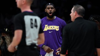 LeBron James Wasn't A Fan Of Cameron Payne's Trash Talk As The Suns Beat The Lakers