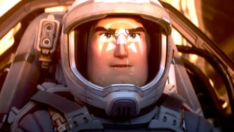 Chris Evans' Buzz Lightyear Goes To Infinity And… Beyond In Pixar's 'Lightyear' Teaser Trailer