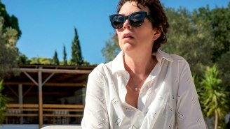 Olivia Colman Can't Take Her Eyes Off Dakota Johnson In Maggie Gyllenhaal's 'The Lost Daughter' Trailer