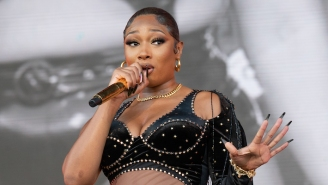 Megan Thee Stallion's Visit To The F1 Grand Prix Resulted In A Seriously Awkward Interview