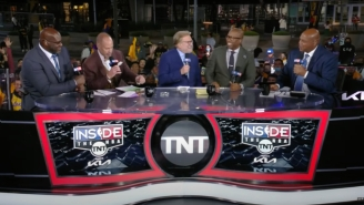 Drew Carey Joined The 'Inside The NBA' Crew To Put Charles Barkley Through Another Round Of 'Who He Play For?'