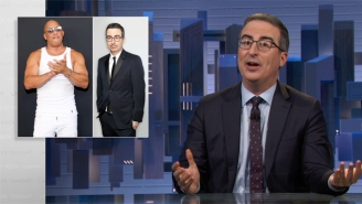 John Oliver Finally Found Something That He Has In Common With Vin Diesel (And It's Not Good For Either Of Them)