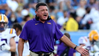 Ed Orgeron Reportedly Hit On An LSU Official's Pregnant Wife And Brought His 'Girlfriends' To Practice