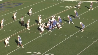 A D3 Football Game Ended When The Losing Team's Quarterback Took A Knee Instead Of Spiking The Ball