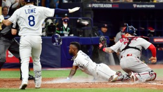 Randy Arozarena Beautifully Stole Home Against The Red Sox In Game 1 Of The ALDS
