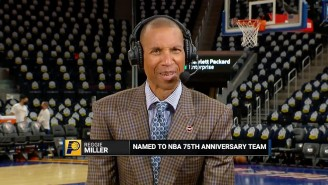 Reggie Miller Was Stunned To Learn He Made The NBA's 75 Greatest Players List