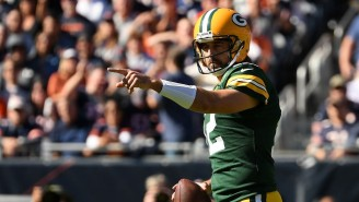 Aaron Rodgers Yelled 'I've Owned You All My F*cking Life!' At Bears Fans After His Touchdown Run To Ice A Win