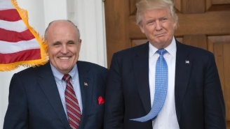 Sold! Someone Paid $54,000 For A Book Trump Autographed For Rudy Giuliani In 2000