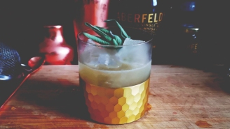 Our Scotch Herbed Honey Smash Is The Ideal Cocktail For Mucky Weather