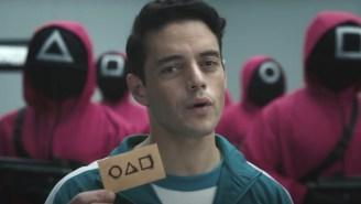 Pete Davidson And Rami Malek Do The Inevitable Parody Of 'Squid Game' On 'SNL'
