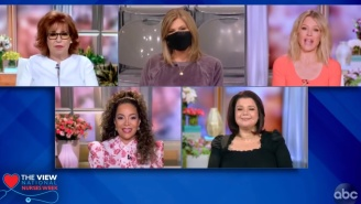 The Staff Nurse For 'The View' Is Apparently Taking The Fall For The Recent Live On-Air COVID Test Fiasco