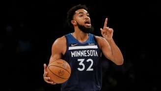 Karl-Anthony Towns' New Pregame Ritual Is Watching Gorilla Fights To Get Pumped Up