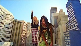 Willow And Avril Lavigne Prove That Self-Care Can Still Be Punk In Their Raucous 'Grow' Video