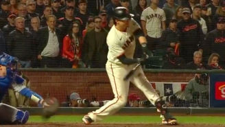 The Giants Got Hosed On A Check Swing Strike Three Call To Lose Their Series Against The Dodgers