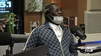 Young Thug Paid Lil Baby To Rap Because He Feared The Younger Artist Would Go Back To Prison