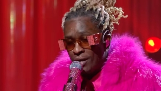 Young Thug Brings 'Punk' To 'SNL' With Electric Performances Of 'Tick Tock' And 'Love You More'