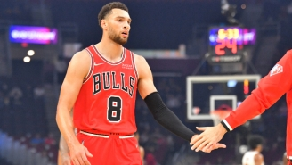 Zach LaVine 'Intends To Play' Through A Small Ligament Tear In His Thumb